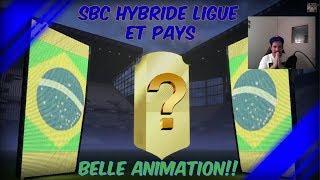 FIFA 18 - SBC/DCE - HYBRIDE LIGUE ET PAYS - BELLE ANIMATION [FR]