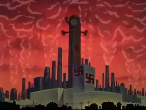 Us Wwii Propaganda Cartoon - Donald Duck In Der Fuhrer's Face video