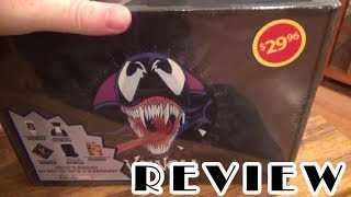 Venom Loot Crate Review Unboxing