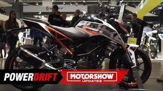 2019 KTM 125  Duke : Smallest Orange : EICMA 2018 : PowerDrift