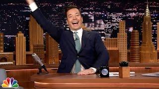 Jimmy Fallon Thanks David Letterman