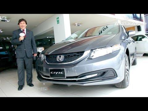 Honda Civic 2014 presentado por FastLane   Video en Full HD   Todoautos.pe