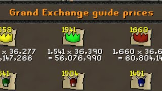 Runescape Sparc Mac's Grand Exchange Release Special! Ft. Rare Collection!