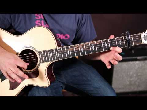 Maroon 5 - Maps - How To Play On Guitar -- Lesson Tutorial  -Easy Acoustic Songs For Guitar