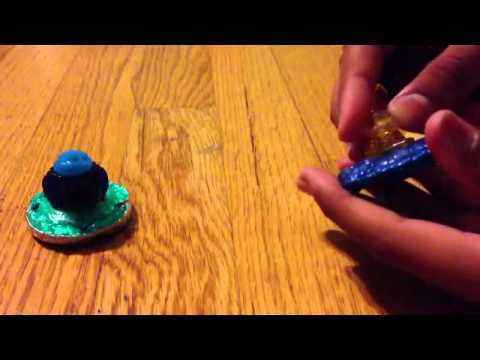 HD Beyblade Shogun Steel Leviathan Orochi Water Synchrome 2 Pack Review!