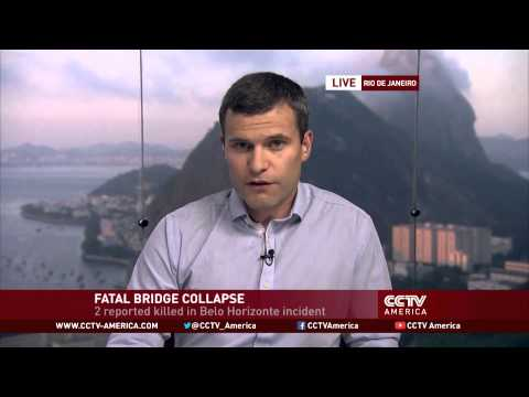 Overpass collapse in World Cup city of Belo Horizonte