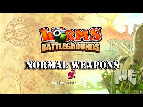 Worms Battlegrounds: Normal Weapons