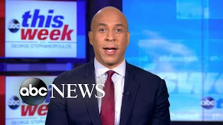'Something is wrong with the system': Sen. Cory Booker on 'barriers' in 2020 race | ABC News