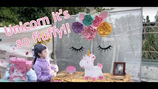 UNICORN BIRTHDAY PARTY!!! 🦄 Day In The Life Stay At Home Mom Vlog