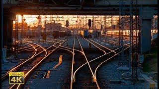 CABVIEW Ljubljana - Koper -- Inland Slovenia to Adriatic Sea -- freight train travel