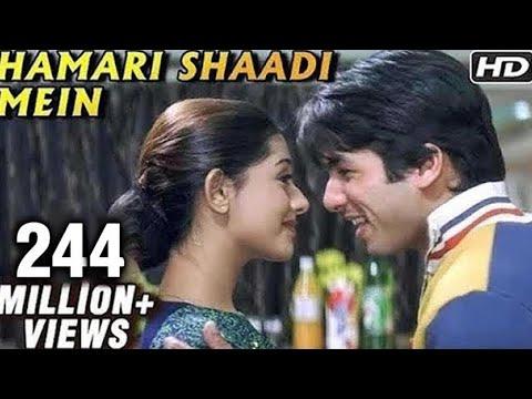 Hamari Shaadi Mein - Shahid Kapoor Amrita Rao - Vivah - Bollywood...