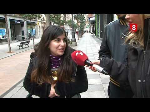 La gente opina sobre el frio en Ponferrada
