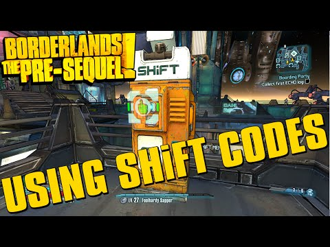 Borderlands The Pre-Sequel Using SHiFT Codes + 25 Golden Key Codes!