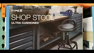 Costco! Type S - Ultra Cushioned SHOP STOOL! $59!!!
