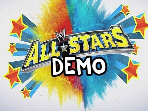 WWE All Stars: Demo Playthrough Rey vs Ultimate Warrior w/Nova Pt.2 (Gameplay/Commentary)
