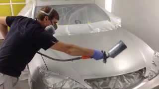 Painting 2002 Toyota Camry Front with blend  - AutoSQS.com