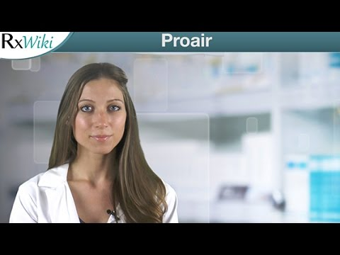 Proair To Treat or Prevent Asthma Attacks or Bronchospasms - Overview