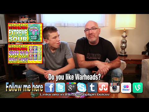 WarHeads ★ Sour Chewy Cubes with Co-Host Ben