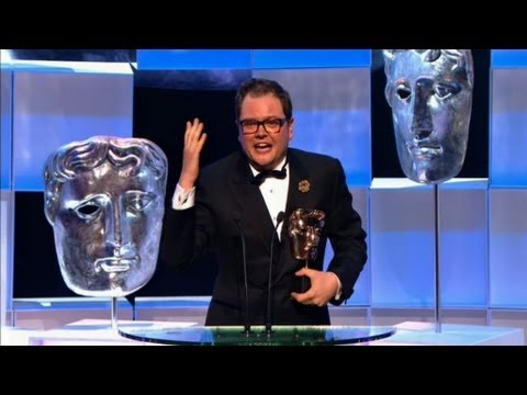 Alan Carr wins Entertainment Performance Bafta - The British Academy Television Awards 2013 - BBC