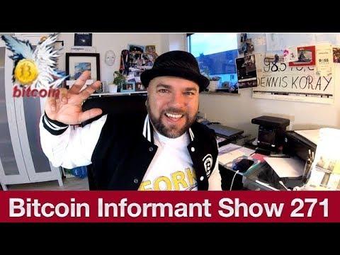 #271 Bitcoin Cash neues Adressformat, nationale Kryptowährungen England und Russland & Top Performe