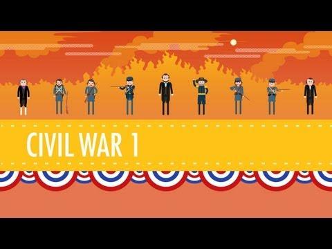 The Civil War. Part I: Crash Course US History #20