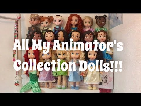 All My Animators' Collection Dolls And Reviews!!!