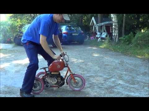 Bike With Chainsaw Engine