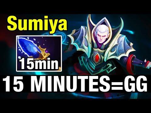 AGHANIM'S 15 MINUTES = GG - SumIYa Plays Invoker - Dota 2