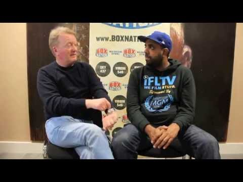 FRANK WARREN *EXTENDED INTERVIEW* ON THE EUBANKS, BILLY JOE SAUNDERS, CONTRACTS AND PAY-PER-VIEW