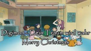 Digimon AMV - Dein Traum wird wahr (Merry Christmas 2009)