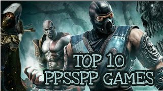 Top 10 PPSSPP Games | Best PSP Games Ever | Amazing HD PSP Games | For Android device |