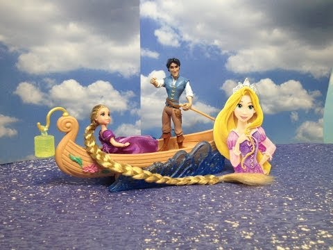 RAPUNZEL Boat Ride a Disney Princess Tangled Movie Toy with...