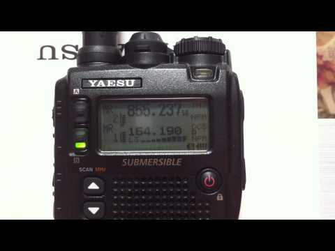 Yaesu VX-8DR Demo HD Dual Triple Receive Vertex Standard