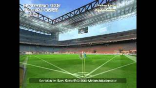 Serie A TIM stadiums in PES 6 (HD 720p)