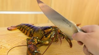 EXTREMELY GRAPHIC: Live Lobster Sushi Roll