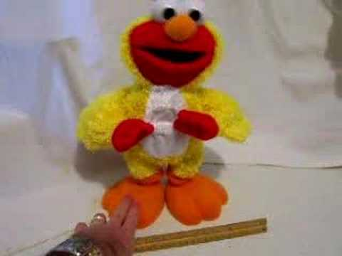 Elmo Singing & Dancing Mechanical Toy-- Chicken Dance video