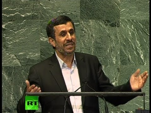 'Сurrent world order based on injustice': Ahmadinejad full 2012 UN speech