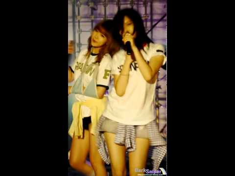 NoEul 노을 HD FANCAM | Ment 3 + A (120510) - Rainbow @ Hanyang University (レインボー)