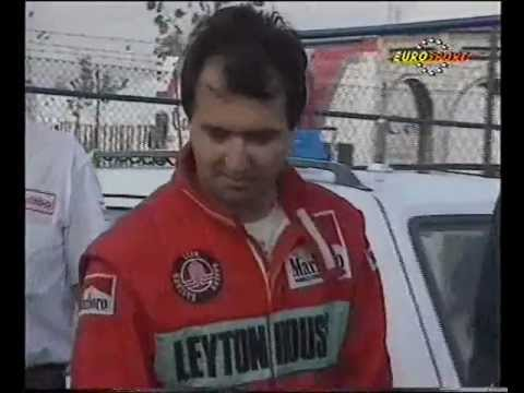 A short news report from the 1990 Portuguese Grand Prix on the hapless Life team, which ditched its own unique W12 engine in favour of a more conventional Ju...