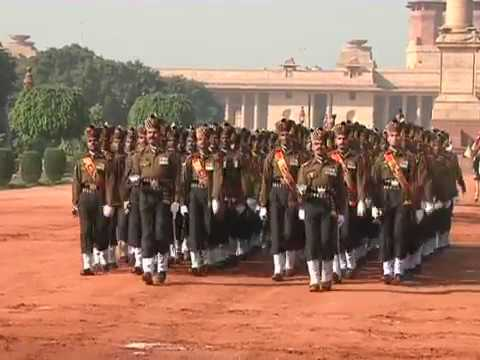 A new 'Change of Guard' ceremony was unveiled at Rashtrapati Bhavan-Part - 3 - 08-12-12
