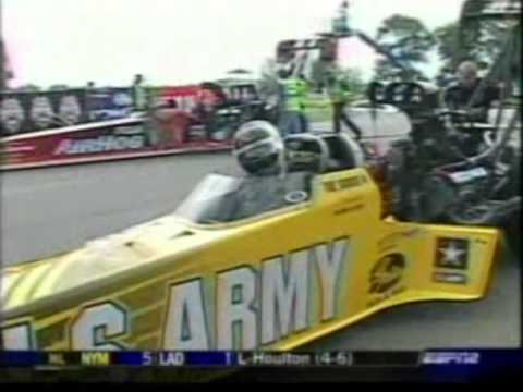 337 58 MPH TFD DSR Tony Schumacher Alan Johnson Brainerd Mn  2005