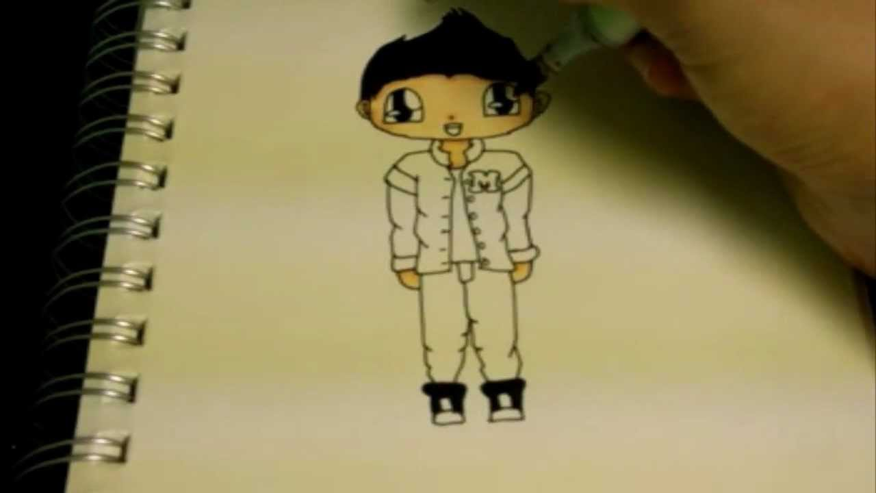 Zayn Malik Cartoon Drawing How to Draw Chibi Zayn Malik