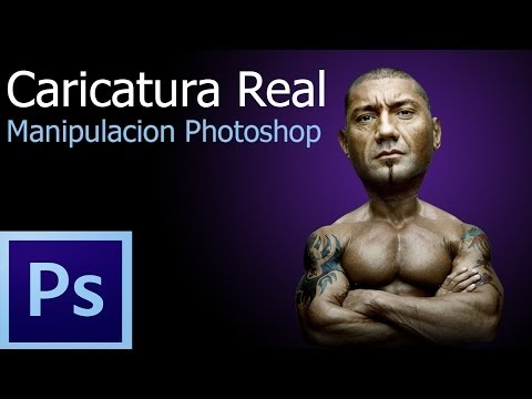 Crea tu propia caricatura o cartoon - Manipulacion en photoshop | Tutorial photoshop @Mrtecno