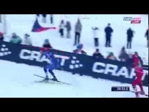 Гениальный финиш Никиты Крюкова