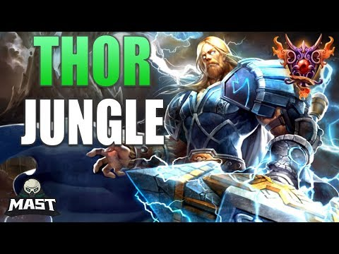 Thor Jungle Gameplay | Diamond 5 | The SPL Start! - SMITE Ranked Conquest