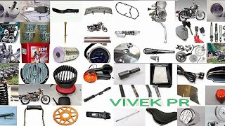 ROYAL ENFIELD CLASSIC 350 SPARE PARTS & PRICE