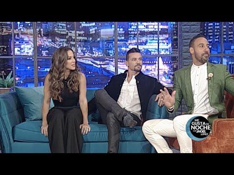 Jhoel López entrevista a Karina Larrauri y Federico Ozores en Me Gusta de Noche