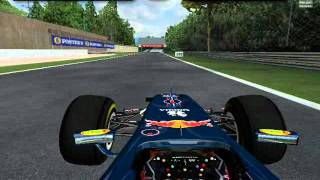 Onboard Monza [Włochy] F1 GA 2011