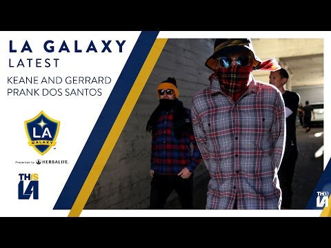 WATCH: Robbie KEANE and Steven GERRARD prank Giovani DOS SANTOS | GALAXY LATEST