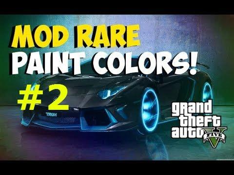 Gta Online Crew Colors Gta v Online Modded Crew Color
